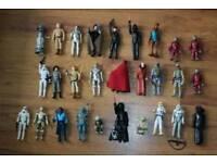Mixed Star Wars figures 1977-85