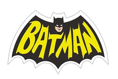 Batman Sticker Comic book Superhero Collectible R97 CHOOSE SIZE FROM DROPDOWN - Comic Book Superhero
