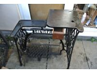 Singer 29K Cylinder Arm Industrial Sewing MACHINE Table With DRAWER