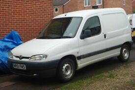 2001 Peugeot Partner 600 LX Diesel