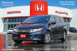 2014 Honda Odyssey EX-L | LEATHER | DVD PLAYER | 8 SEATS