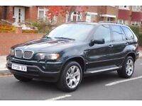 LHD LEFT HAND DRIVE BMW X5 HIGH EXECUTIVE 4x4 AUTOMATIC LEATHER,SAT NAV,XENON FULLY LOADED