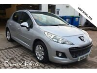 Peugeot 207 1.4 Hdi DIESEL 5 door hatchback 2011 61 plate, lovely little car low road tax 75 mpg !