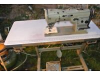 BROTHER FREEHAND EMBROIDERY ZIG ZAG INDUSTRIAL SEWING MACHINE LT2-B854-3