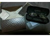 GUCCI purse & shades