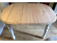 PINE DINING TABLE - SHABBY CHIC
