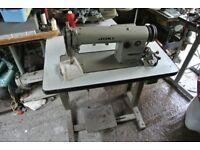 Juki Industrial lockstitch sewing machine Model DDL-555 Single Phase,
