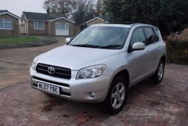 toyota rav 4 in excellent condition, 11 MOT, tow bar, leather seats, 2 keys, hand books, 2 owners.