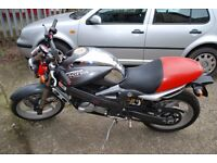 Cagiva 125 Planet two stoke motorcycle.