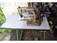 Union Special Twin Needle Cylinder Arm Industrial Coverstitch Sewing Machine