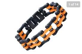 Brand New Mens bracelet based on bike chain (Still available)