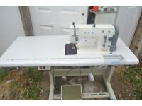 Freehand Embroidery ACE Zig Zag Industrial Sewing Machine