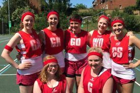 Social, Fun & Friendly Netball Team