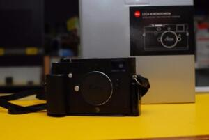 Leica M Monochrom typ 246, black chrome finish *On Hold*