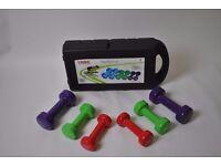 10kg york fitness fitbell set