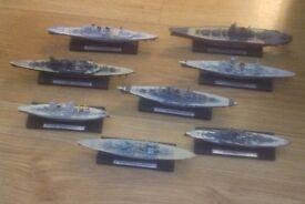 War Ship Models job lot
