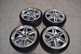 "19"" MERCEDES/AUDI/VW ALLOYS 5X112"