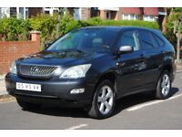 LHD LEFT HAND DRIVE LEXUS RX300 EXECUTIVE 2005 4x4 AUTOMATIC,SAT-NAV, LEATHER,REVERSE CAMERA LOADED