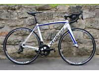 2015 SPECIALIZED TARMAC COMP CARBON ROAD RACING BIKE. ULTEGRA 22-SPEED. SUPERB CONDITION. WAS £2050.