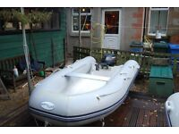 RIB Tender - Waveline 2.9m with 8HP Yamaha outboard - 2 stroke Excellent Condition Inflatable tubes.