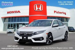 2016 Honda Civic Touring | LEATHER | NAVIGATION | REAR & SIDE CA