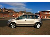 2006 NISSAN NOTE TURBO DIESEL, FSH, VERY CHEAP TO RUN AND INSURE