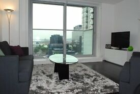 15TH FLOOR 1 BED - Pan Peninsula E14 - CANARY WHARF DOCKLANDS SOUTH QUAY ISLE OF DOGS POPLAR CITY
