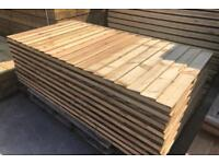 🍃 Various Sizes & Styles Of High Quality Pressure Treated Wooden/ Timber Garden Fence Panel