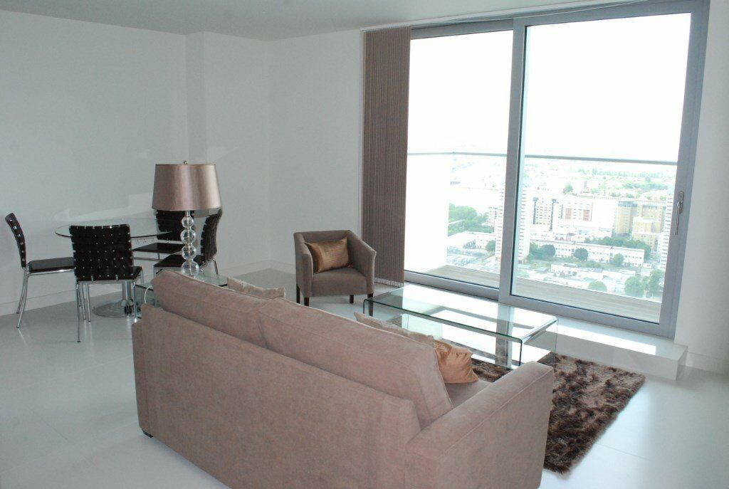 # Beautiful 1 bed coming available soon on the 34th floor in Pan Peninsula - call now!!