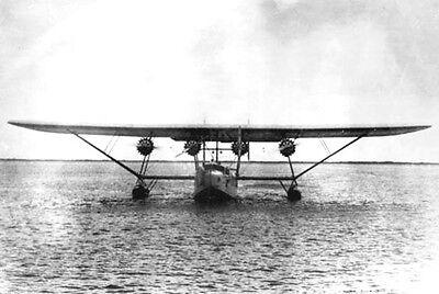 Sikorsky S-40 Amphibious Flying Boat Aircraft Mahogany Wood Model Small New