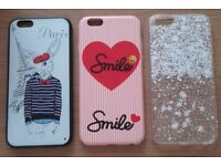 3 x iPhone 6/6s Cases - Brand New - would sell separately
