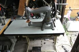SINGER 45K89 HEAVY DUTY Industrial Machine(For Thicker sewing, like Dog collars, webbing, leather