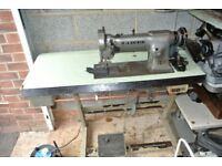 Industrial Walking Foot Seiko Sewing Machine , Leather sewing, Horse Rugs, Bouncy castles, Marquees,