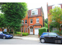 Large two bedroom unfurnished flat in Hampstead NW6 with garden