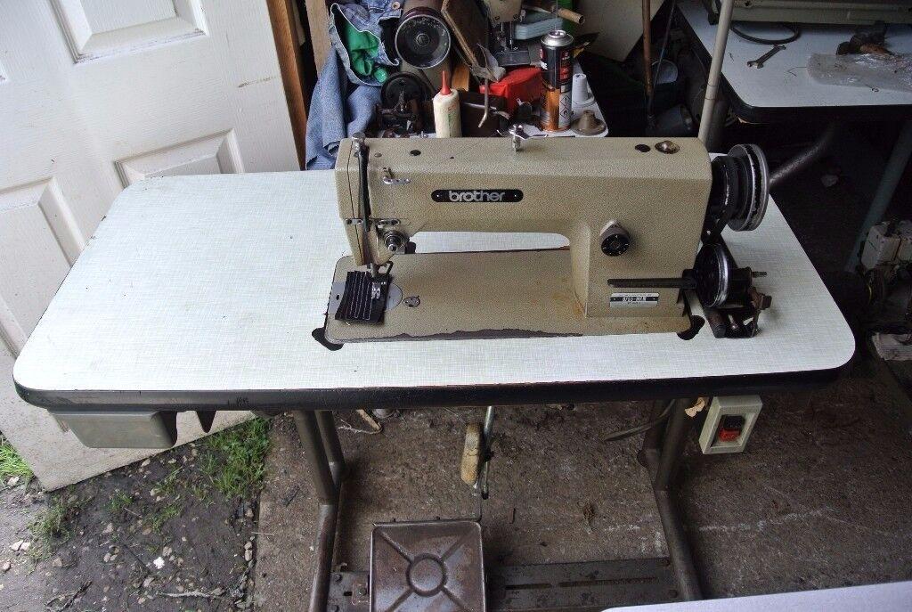 Brother INDUSTRIAL Flatbed Lockstitch Sewing machine Model Mark III