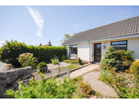 Bright warm bungalow, 2 bed, end terrace. Garden front and back. Quiet neighbourhood.