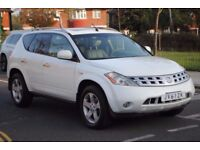 LHD LEFT HAND DRIVE NISSAN MURANO 4x4 AUTOMATIC, LEATHER,PARKING SENSORS FULLY LOADED