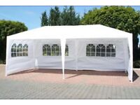 Brand New Outdoor Garden Gazebo Marquee (6 x 3m) for sale