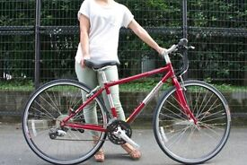 Jamis Coda Sport Bike. Custom Built Ladies, Specialized Trek Equivalent. Nearly new, £100 spent