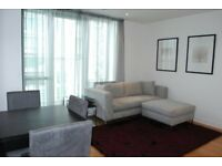 SPACIOUS 1 BEDROOM APARTMENT ON 24TH FLOOR OF PAN PENINSULA EAST TOWER E14 CANARY WHARF SOUTH QUAY