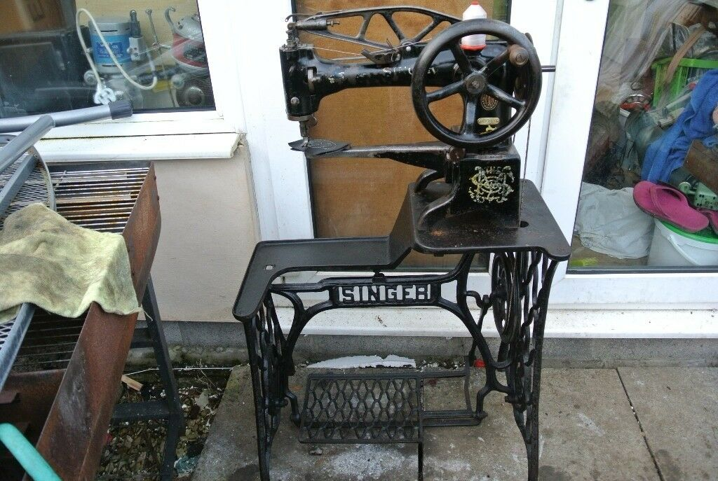 Singer 40k Cobbler Walking Foot Heavy Duty Leather Patcher Sewing Fascinating Antique Singer Leather Sewing Machine