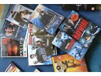 DVD Collection of 18 Various Action