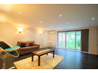Chic one bedroom flat with garden in St Johns Wood NW8
