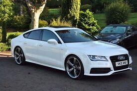 Audi A7 TDI S-Line Black Edition
