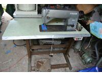 Singer 660A2 INDUSTRIAL Lockstitch Flatbed Sewing machine
