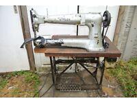 Long Cylinder Arm Singer 133K7 Industrial WALKING FOOT Machine with LARGE BOBBIN