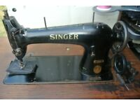 Singer 31K4 WALKING FOOT Industrial Lockstitch Sewing machine For LEATHER