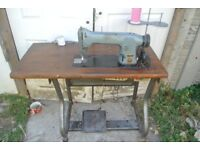 Singer Lockstitch Flatbed Sewing machine for Alteration shops, Home use, factory, Schools,