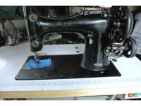 Singer 132K10 Heavy Duty Sewing Machine,-Horse Blankets(6 LAYERS LEATHER SEWN SAMPLE
