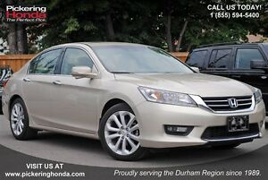 2014 Honda Accord Touring V6 LEATHER NAVI ALLOYS